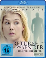 Return to Sender Blu-ray Cover