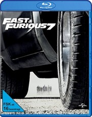 Fast & Furious 7 Blu-ray Cover
