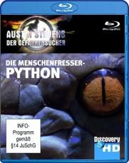Discovery HD: Austin Stevens - Die Menschenfresser-Python Blu-ray Cover