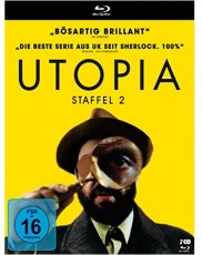 Utopia - Staffel 2 Blu-ray Cover