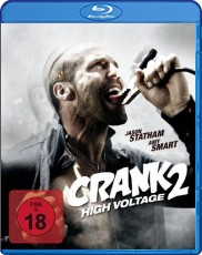Crank 2: High Voltage Blu-ray Cover