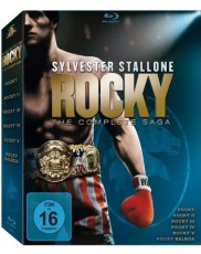 Rocky: The Complete Saga Blu-ray Cover