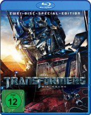 Transformers 2: Die Rache (2-Disc Special Edition) Blu-ray Cover