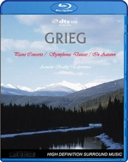Grieg: Piano Concerto & Symphonic Dances Blu-ray Cover