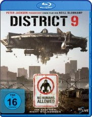 District 9 Blu-ray Cover