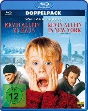 Kevin allein zu Haus & Kevin allein in New York Blu-ray Cover