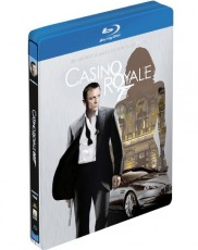 James Bond 007: Casino Royale - Steelbook Blu-ray Cover