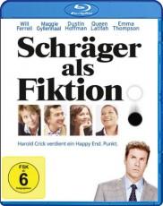 Schräger als Fiktion Blu-ray Cover