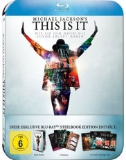 Michael Jackson: This Is It - Ultimate Fan Collectors Edition - Steelbook Blu-ray Cover
