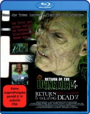 Return of the Living Dead 4 & 5: Box Blu-ray Cover