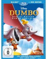 Dumbo: Der fliegende Elefant - Diamond Edition (inkl. DVD) Blu-ray Cover