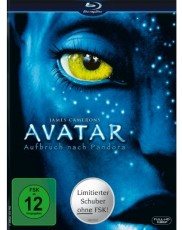 Avatar - Aufbruch nach Pandora (Limited Edition im Schuber) Blu-ray Cover