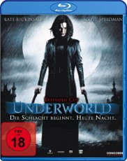 Underworld: Extended Cut Blu-ray Cover