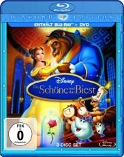 Die Schöne und das Biest: Diamond Edition (2 Disc) Blu-ray Cover