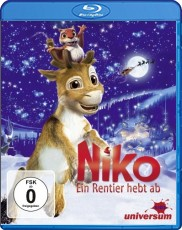 Niko: Ein Rentier hebt ab Blu-ray Cover