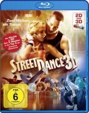 StreetDance 3D (inkl. 2D Version + 3D Brillen) Blu-ray Cover