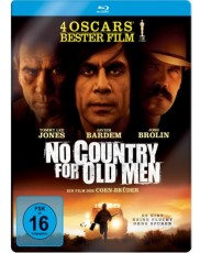 No Country For Old Men: Limited Steelbook Edition Blu-ray Cover