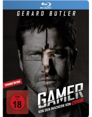 Gamer: Limited Steelbook Edition Blu-ray Cover