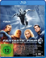 Fantastic Four 2: Rise of the Silver Surfer Blu-ray Cover