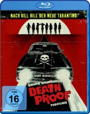 Death Proof: Todsicher - Steelbook Blu-ray Cover