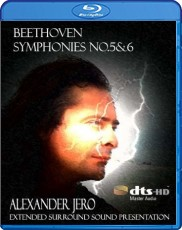 Beethoven: Symphony No. 5 & 6 - The New Dimension of Sound Series Blu-ray Cover