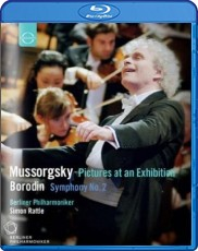 Mussorgsky: Pictures at an Exhibition & Borodin: Symphony No. 2 Blu-ray Cover