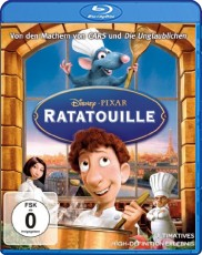 Ratatouille Blu-ray Cover