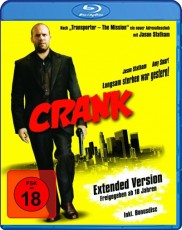Crank: Extended Cut Blu-ray Cover