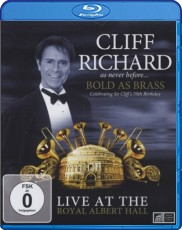 Cliff Richard: Bold As Brass - Live at the Royal Albert Hall Blu-ray Cover