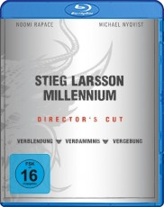 Millennium Trilogie: Directors Cut Blu-ray Cover
