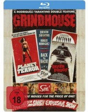 Grindhouse-Box: Death Proof: Todsicher & Planet Terror - Steelbook Blu-ray Cover