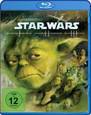 Star Wars: Trilogie (Episode I-III) Blu-ray Cover