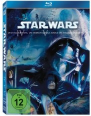 Star Wars: Trilogie (Episode IV-VI) Blu-ray Cover