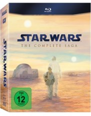 Star Wars: Complete Saga (Episode I-VI) Blu-ray Cover