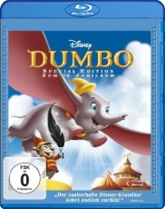 Dumbo: Der fliegende Elefant (Single Edition) Blu-ray Cover
