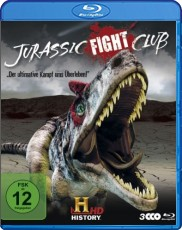 Jurassic Fight Club: Der ultimative Kampf ums Überleben - Staffel 1 Blu-ray Cover