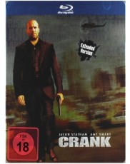 Crank: Extended Cut - Limited Steelbook Edition Blu-ray Cover