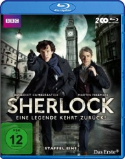 Sherlock: Staffel 1  Blu-ray Cover