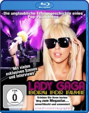Lady Gaga: Born for Fame Blu-ray Cover