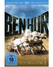 Ben Hur: Ultimate Collectors Edition Blu-ray Cover