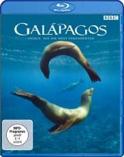 Galapagos: Inseln, die die Welt veränderten Blu-ray Cover