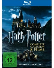 Harry Potter Komplettbox Blu-ray Cover