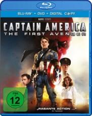 Captain America (inkl. DVD + Digital Copy) Blu-ray Cover