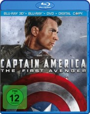 Captain America 3D: Limited Edition (inkl. DVD + Digital Copy) Blu-ray Cover