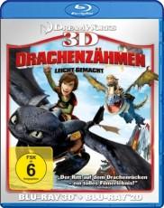 Drachenzähmen leicht gemacht 3D (inkl. 2D Version) Blu-ray Cover