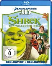 Shrek: Der tollkühne Held 3D (inkl. 2D Version) Blu-ray Cover