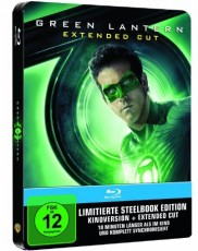 Green Lantern Extended Cut (Steelbook, exklusiv bei Amazon.de) Blu-ray Cover