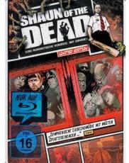 Shaun of the Dead: Comic Steelbook Blu-ray Cover
