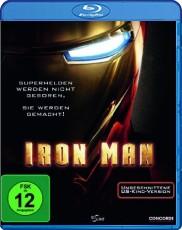 Iron Man  (ungeschnittene US-Kinofassung) Blu-ray Cover