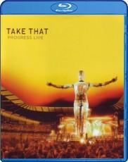 Take That: Progress Live Blu-ray Cover